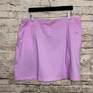 NWT Purple Adidas Golf Skort